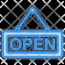 Open Shopping Shop Icon