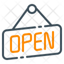 Open Sign Store Icon