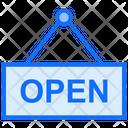 Open Board Open Hanging Board Icon