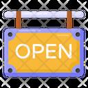 Open Label Open Open Board Icon