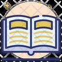 Catalogue Handbook Education Icon