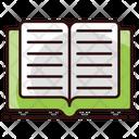 Open Book Textbook Guidebook Icon