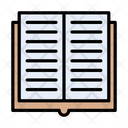 Book Open Reading Icon