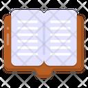 Open Book Book Booklet Icon