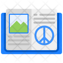 Open Book Pacifism Book Book Icon