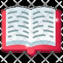 Booklet Handbook Open Book Icon
