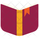Open Book Cover Icon