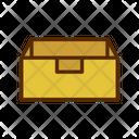 Open Box Open Parcel Open Package Icon