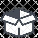 Open Box Unpacking Icon