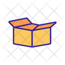 Packaging Box Shipping Icon