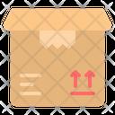 Open Opened Box Icon