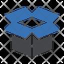 Open Box Open Package Parcel Icon