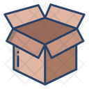 Open Box Unboxing Package Icon