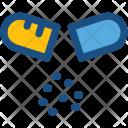 Open Capsule Icon