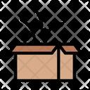 Open Carton Icon