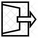 Open Enter Arrow Icon
