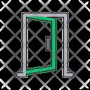 Door Open House Icon