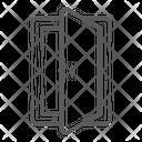 Open Door Door Entrance Icon