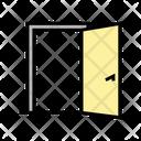 Inside Opened Door Icon