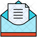 Open Email Mail Open Envelope Icon