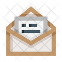 Open Email Open Letter Read Letter Icon