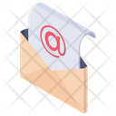 Open Envelope Email Envelope Open Letter Icon