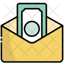 Money In Envelope Icon