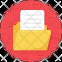 Folder Open File Archive Icon