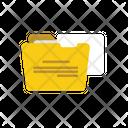 Open Folder Folder Storage Icon