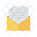 Open Message Mail Icon