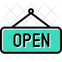 Open Hang Sign Icon
