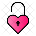 Open Heart Unlock Love Icon
