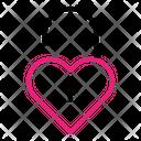 Open Heart Icon