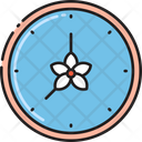 Open Hours Salon Timing Beauty Parlour Time Icon