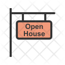 Open House Sign Icon