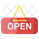 Open Label Icon