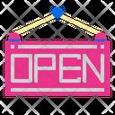Open Label Icon