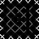 Open Inside Arrow Icon