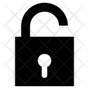 Open Lock Padlock Icon