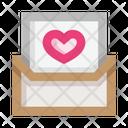 Open Love Letter Open Letter Love Letter Icon