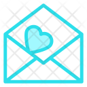 Open love letter Icon