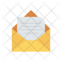 Open Message Email Icon