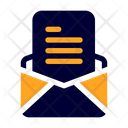 Open Mail Open Email Open Envelope Icon