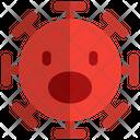 Open Mouth Coronavirus Emoji Coronavirus Icon