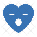 Facewithopenmouth Heart Emoji Icon