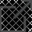 Expand Increase Size Arrow Icon
