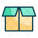 Open Package Open Box Box Icon