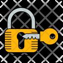 Lock Key Protection Icon