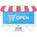 Open Shop Shopping Icon