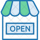 Open Store Open Shop Open Icon